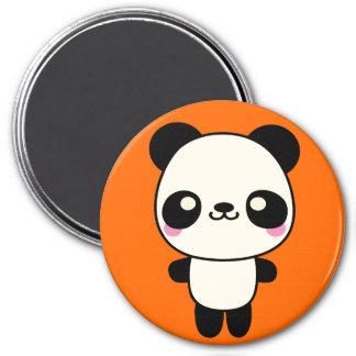 Panda Plushie 7.5 Cm Round Magnet