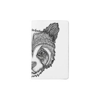 Panda Pocket Moleskine Notebook