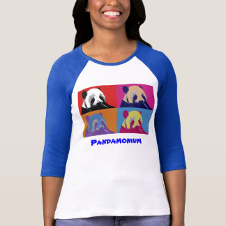 Panda Pop Art T-Shirt