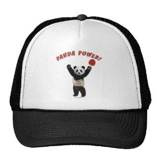 Panda Power Ping Pong Hats