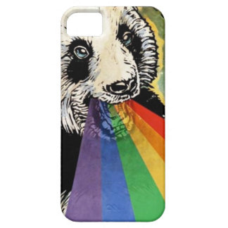 panda rainbow barely there iPhone 5 case