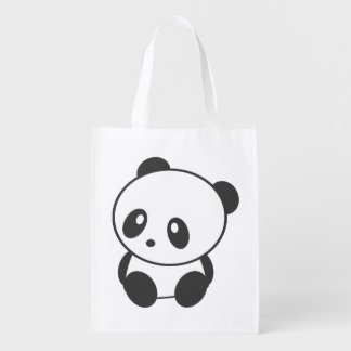 Panda reusable bag