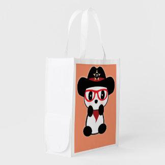 Panda Reusable Bag - Panda Bear Eco Bag