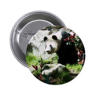 Panda Smile! 6 Cm Round Badge