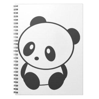 Panda Spiral Notebook