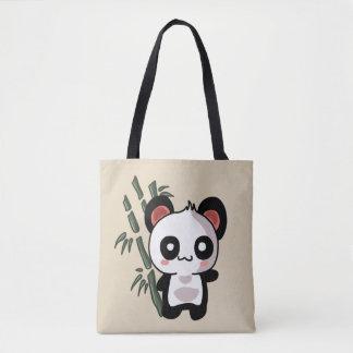 Panda stock market Bamboo Tote Bag