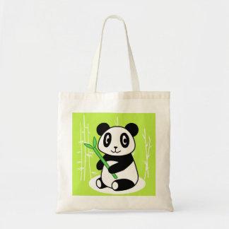 Panda Budget Tote Bag