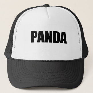 PANDA TRUCKER HAT