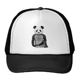 Panda Viking Helm Of Awe Cap