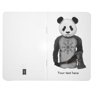 Panda Viking Helm Of Awe Journals
