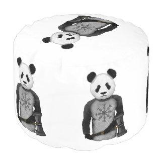 Panda Viking Helm Of Awe Pouf