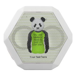Panda Wearing A Funny Warning T-shirt