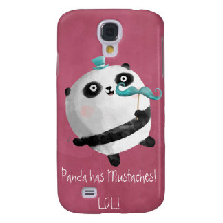 Panda with Mustaches Samsung Galaxy S4 Cover