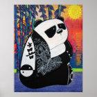 Panda Zen Master Poster