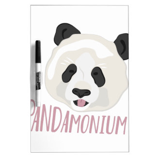 Pandamonium Dry Erase Board