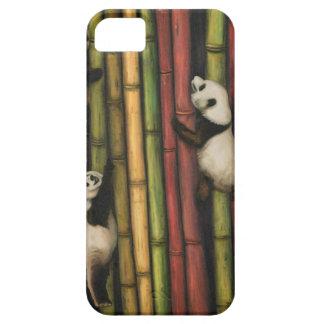 Pandas Climbing Bamboo Case For The iPhone 5