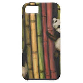 Pandas Climbing Bamboo iPhone 5 Cases