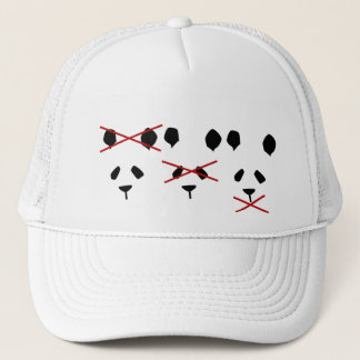 Panda's Don't Hate Trucker Hat