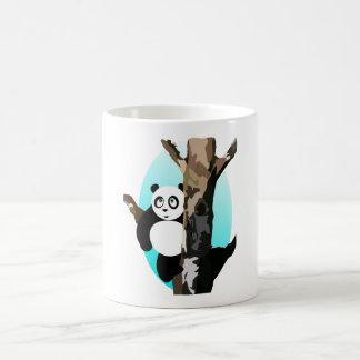 Pandas In A Tree Basic White Mug