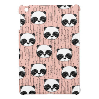 Pandas - Panda - Tiny Pale Pink / Andrea Lauren iPad Mini Covers