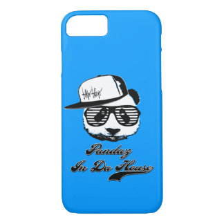 Pandaz In Da House. Ghetto panda iPhone 7 Case