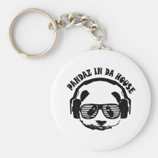 Pandaz In Da House Key Ring