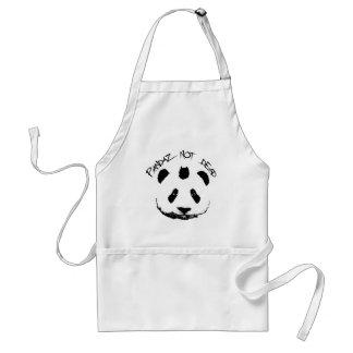 Pandaz not dead standard apron