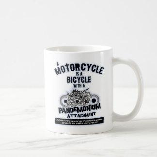 Pandemonium Attachment -bw Coffee Mug