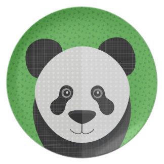 Pandi Panda portrait Plate