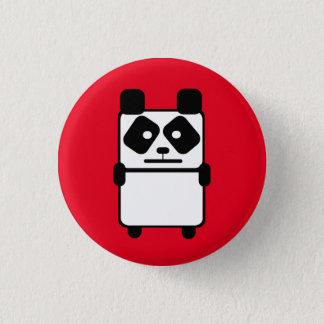 Pandie Bear 3 Cm Round Badge