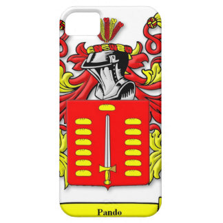 Pando Coat of Arms Barely There iPhone 5 Case