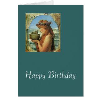 """Pandora"" by Alma-Tadema Card"
