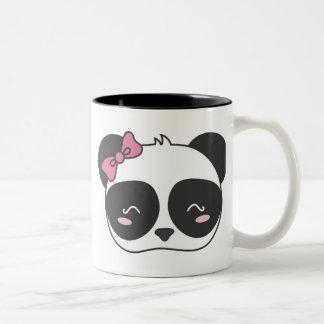 Pandora, The Adorable Panda Two-Tone Coffee Mug