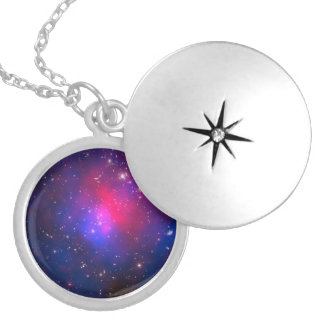 Pandora's Cluster – Abell 2744 Silver Plated Necklace