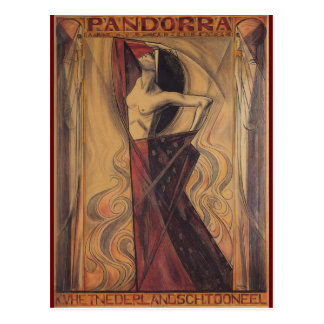 "PANDORRA ""Arthur Van Schendel"" 1919 Postcard"