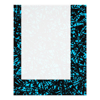 Panel 074 - Abstract Lines - Sky Blue Flyer Design