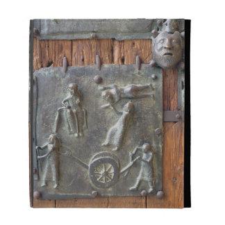 Panel from the left hand door, 12th century (bronz iPad cases