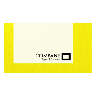 Panel - Painted Yellow Business Card Templates