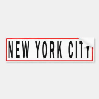 New york bumper stickers car stickers - Stickers geant new york ...
