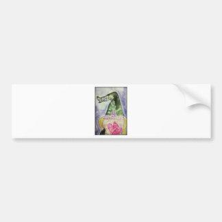 Pangea lavender macarons bumper sticker