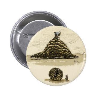 Pangolin Warrior Pins