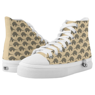 Pangolins Patterned High Tops