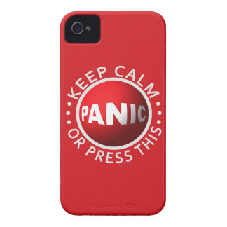 Panic Button iPhone case-mate iPhone 4 Case