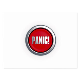 Panic Button Postcard