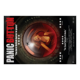 Panic Button Screaming Lens Poster