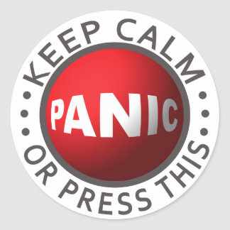Panic Button stickers