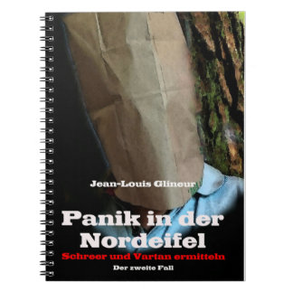 PANIC IN THE NORTH EIFEL SPIRAL NOTE BOOKS