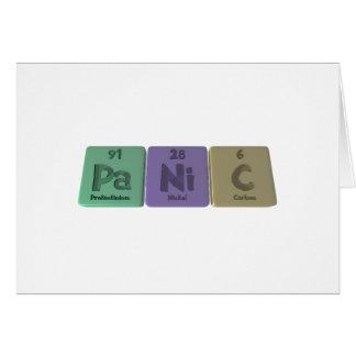 Panic-Pa-Ni-C-Protactinium-Nickel-Carbon.png Greeting Cards
