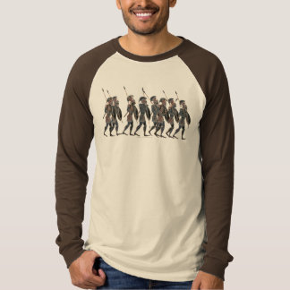 Panoply. Ancient Greek hoplites on the move T-Shirt