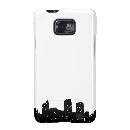 Panorama city in snow galaxy SII case